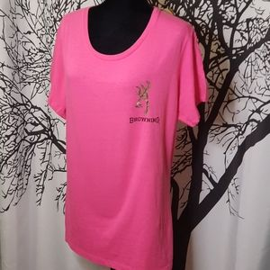 Browning / Mossy Oak Ladies T-shirt